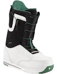 4c6c808b8c045 Burton Ruler - Botas de snowboard para hombre blanco white black green  Talla