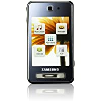 Samsung SGH-F480i Smartphone (Touchscreen, 5MP Kamera, UMTS, HSDPA) ice silver