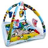 CHOTE USTAD Baby Bedding Set with Mosquito Net and Play Gym with Hanging