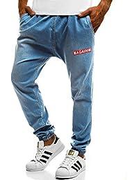 11637260bee4a5 OZONEE Herren Jeans Jeanshose Jogginghose Sporthose Hose Freizeithose  Trainingshose Jogger Otantik…