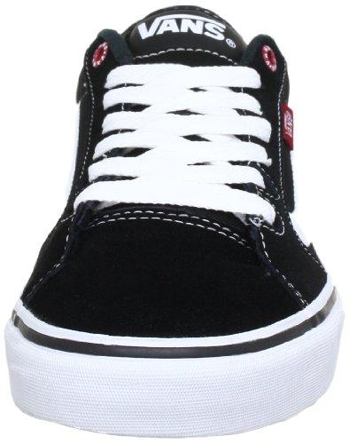 Vans M FAULKNER VSJV63M, Sneaker uomo Nero (Black/White/Whi)