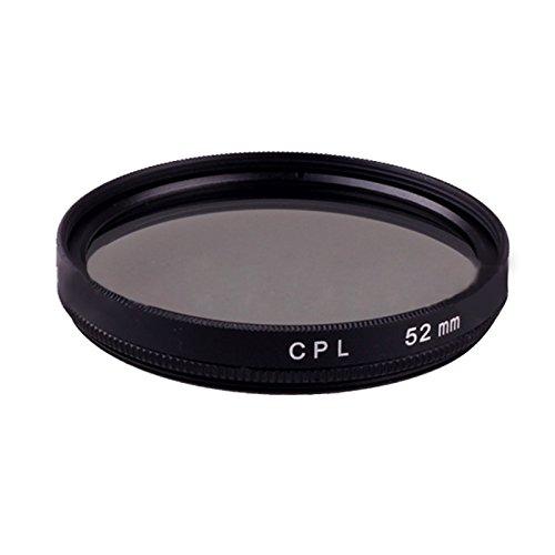 Cewaal 52mm Professional Objektiv Filter Zubehör Kit CPL Circular Polarizer Filter für Canon Nikon Sony Sigma Olympus