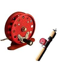 Carrete para pesca en hielo Carretes de mosca / Carrete para pesca en hielo 1:1 0 Rodamientos de bolas -ManosPesca a la mosca / Pesca en