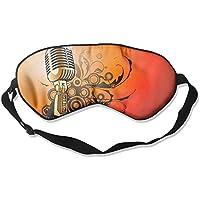 Eye Mask Eyeshade Microphone Picture Sleep Mask Blindfold Eyepatch Adjustable Head Strap preisvergleich bei billige-tabletten.eu