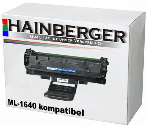 Hainberger Toner für Samsung ML-1640 mit Chip - Schwarz, kompatibel zu D1082S/ELS, Geeignet für Samsung ML 1640 Samsung ML 2240 (Samsung Ml2240 Toner)