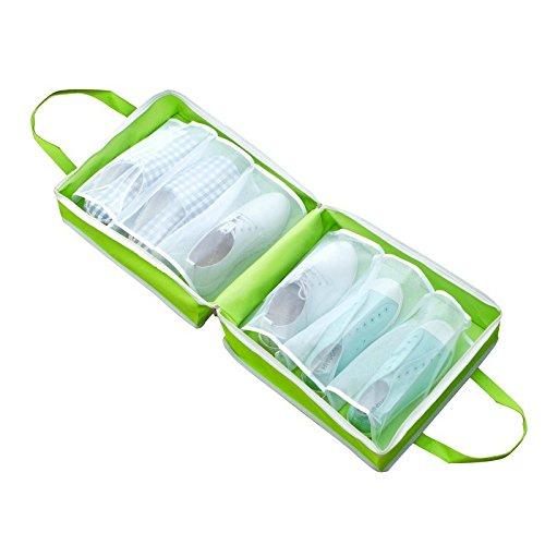 Bolsas de almacenamiento para zapatos, funda portátil con cordón a prueba de polvo, bolsa organizadora...