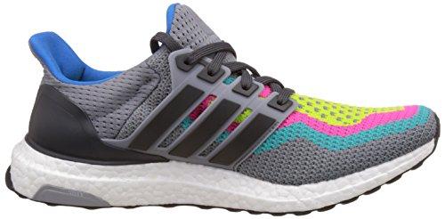 adidas Ultra Boost, Chaussures de Running Entrainement Homme, Bleu Gris / Verde (Gris / Grpudg / Verimp)