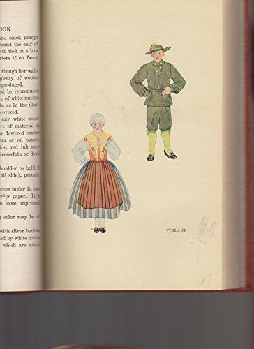 The folk costume book, (Folk Costume)