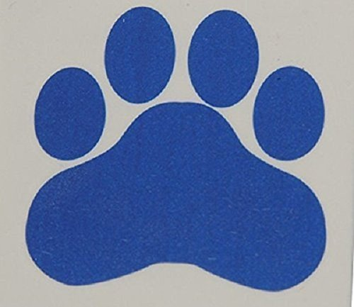 blue-paw-print-temporary-tattoos-lot-of-144-size-15-x-15-by-us-toy