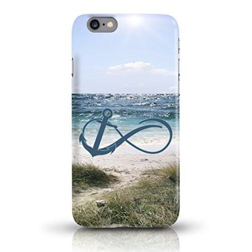 """JUNIWORDS Handyhüllen Slim Case für das iPhone 6/6s - """"Travel"""" - Handyhülle, Handycase, Handyschale, Schutzhülle für Ihr Smartphone Anker Design 3 Dünen"""