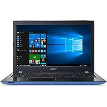 "ACER E5-575G-55XS - Ordenador Portátil de 15.6"" HD (Intel Core i5-7200U, 8 GB RAM, NVIDIA GeForce 940MX 2 GB VRAM, Windows 10 Home), negro y azul - teclado QWERTY Español"