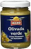 Ibero grüne Olivenpaste mit Walnüssen, 10er Pack (10 x 140 g)