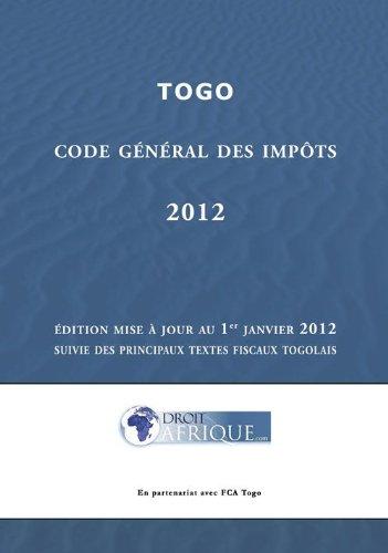 Togo - Code Général des Impôts 2012