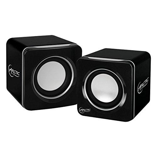 ARCTIC S111 BT 4W Negro altavoz - Altavoces (Inalámbrico y alámbrico, 4 W, 50-25000 Hz, 4 Ω, Negro)