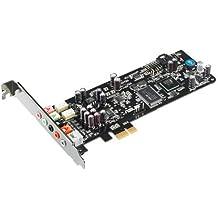 Asus Xonar DSX Tarjeta de sonido interna PCIe 7.1, DTS, Hi-Fi Audio 192KHz, reconocimiento del panel frontal