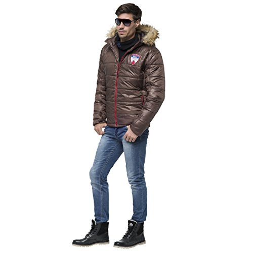 Nebulus Herren Bristol Winterjacke seal brown
