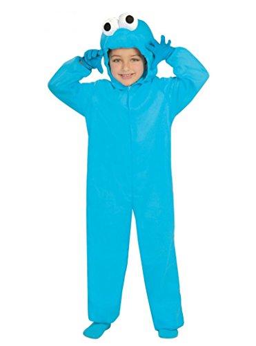 Guirca Blaues Monster Kostüm für Kinder Gr. 110-146, Größe:110/116