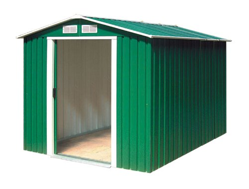 Tepro Metallgerätehaus inkl. Unterkonstrktion 6x6 grün Riverton 7004