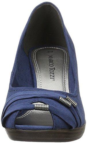 Marco Tozzi 29302, Escarpins femme Bleu (Ocean 803)