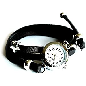 Armbanduhr mit Wickelarmband - Wickeluhr