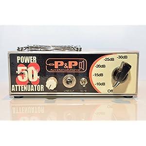 Attenuatore di potenza 50W Multi Impedance P & P amplificazione
