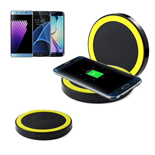 Gaddrt Wireless Ladegerät, Ultrathin Qi Wireless Charging Pad -