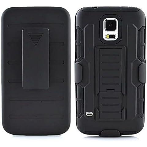 Samsung Galaxy S5 Mini Custodia, [Nuova Generazione] Protezione Completa Doppio