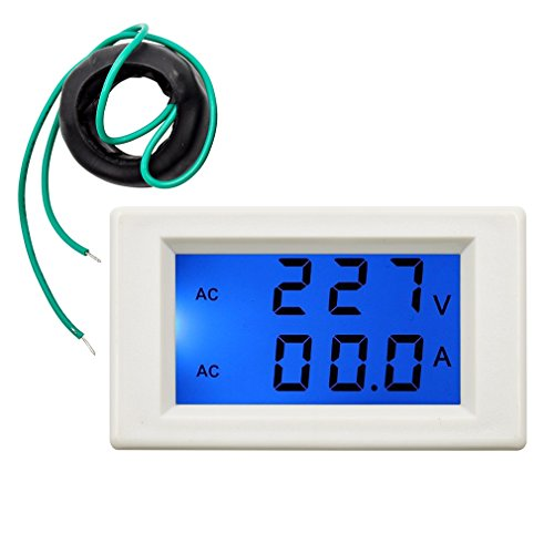 Current Meters Open-Minded Ac Current Meter Ac 50a Include A Shunt 50a 75mv Ac Amp Meter Led Digital With Red Blue Digits Ac Ampere Tester Current Monitor