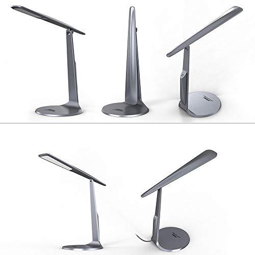 Led Schreibtischlampe, Tragbare Falten Lesebuch Licht Für Student, Dimmbare Tischlampe Augen Pflege Für Studie Schlafzimmer Büro Weihnachtsgeschenk Warmweiß