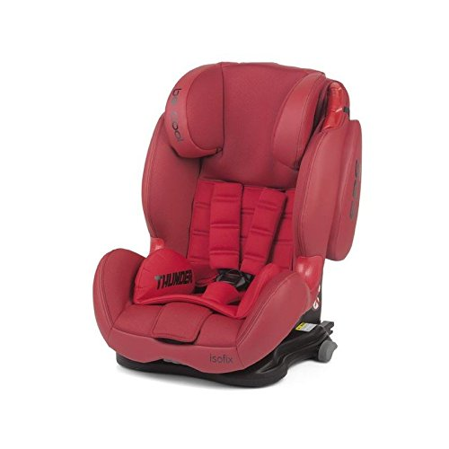 Be Cool isofix 755 rojo - grupo 1/2/3