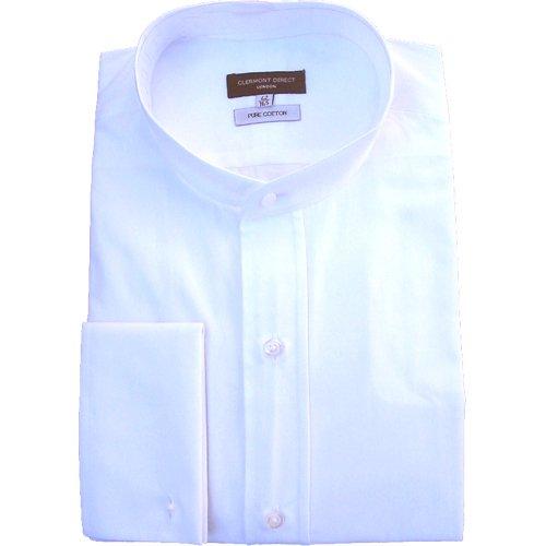Chemise traditionnelle en coton pur, blanc - Blanc - Taille Unique