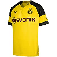 Puma Herren BVB Home Shirt Replica Evonik with Opel Logo Trikot