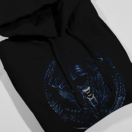 Aliens Queen Women's Hooded Sweatshirt Black