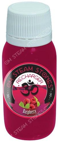 OM Steam Stones Refiller - Raspberry 80ml - Shisha Tabak Molasse Melasse