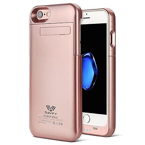 Coque Batterie iPhone 6 / 6s / 7, SAVFY Ultra