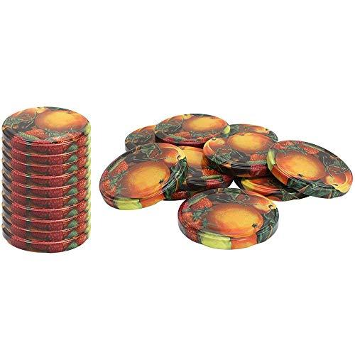 Peng Sheng Ersatz Deckel Fruit Schraube Deckel für Becher und Einmachgläser 3 - Mason Fruit Jars