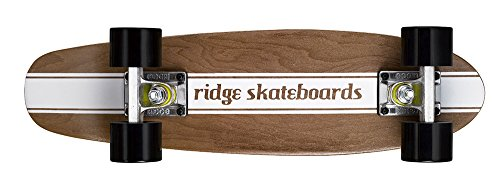 Ridge Skateboards Maple Mini Cruiser- NR4 Skateboard, Nero
