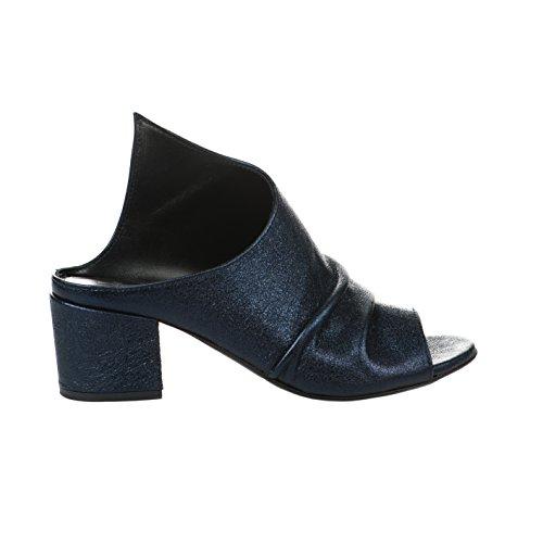Miglio Mules Femme Bleu - 1142 - Millim Bleu