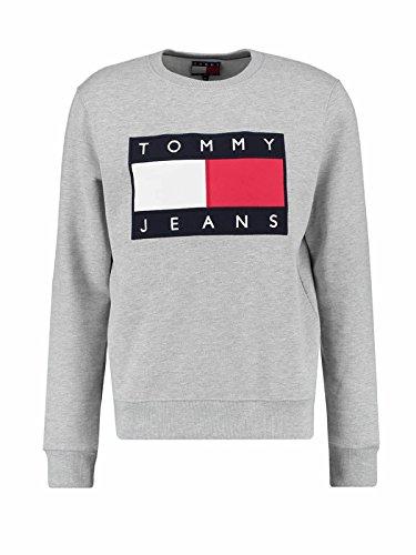 Tommy Hilfiger .. Herren Sweatshirt Gr. Mid-sized, grau meliert