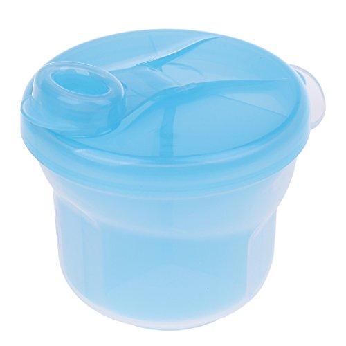 Homyl Milchpulver Portionierer Babyflaschen Zubehör Snack Box Container - Blau