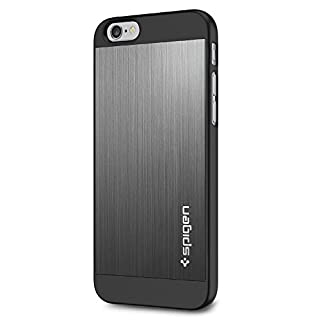 "Spigen iPhone 6 (4.7"") Case Aluminum Fit Space Gray SGP10948 (B00JH888P0) | Amazon price tracker / tracking, Amazon price history charts, Amazon price watches, Amazon price drop alerts"