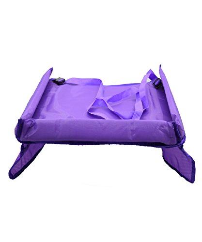 Auto Tablett Tisch für Kinder, taramall Wasserdicht Kids Kinder Reise Play Tabletts Tisch verstellbar Sicherheitsgurt Autositz Zeichenbrett für Buggy Kinderwagen Snack