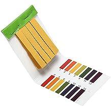 80 Tiras herramienta de prueba sana Análisis Instrumentos de medida del papel de prueba 1-14 PH