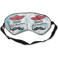 Hola Brochachos 99% Eyeshade Blinders Sleeping Eye Patch Eye Mask Blindfold For Travel Insomnia Meditation preisvergleich bei billige-tabletten.eu