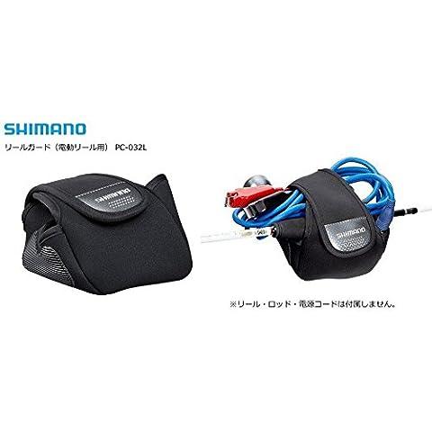SHIMANO carrete L #3000 guardia eléctrica PC-032L negra