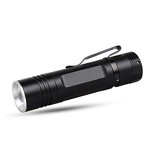 MUTANG Test Fluoreszierende Violette Taschenlampe High-Power-Zoom Weitbereichs-Scheinwerfer Wasserbeständiger Taschenlampen-Detektor UV-Suchscheinwerfer (Farbe : Schwarz)