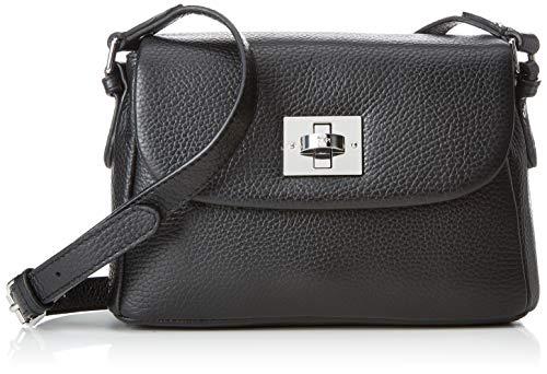 Joop! Damen Chiara Mila Shoulderbag Shf Schultertasche, Schwarz (Schwarz (Black), 10.0x15.0x24.0 cm