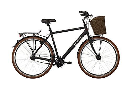 Ortler Monet Herren schwarz matt Rahmengröße 52 cm 2016 Cityrad