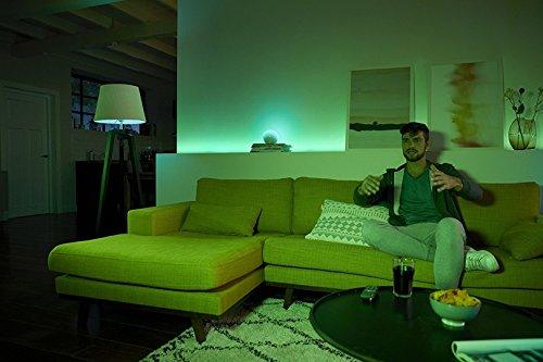 41kffz50AGL [Bon Plan Smarthome!]  Philips Hue Kit de démarrage White and Color Ambiance avec 3xE27 10W [pont et interrupteur avec variateur inclus...