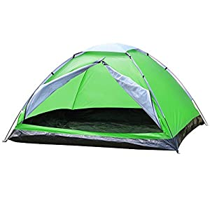 popamazing automatic dome tent canopy camping family tent waterproof portable tent 3-4 person outdoor